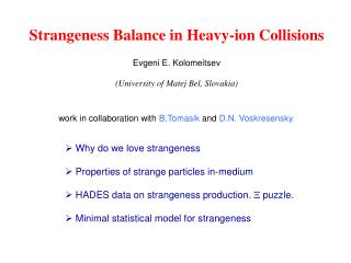 Strangeness Balance in Heavy-ion Collisions