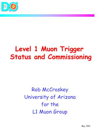 Level 1 Muon Trigger  Status and Commissioning