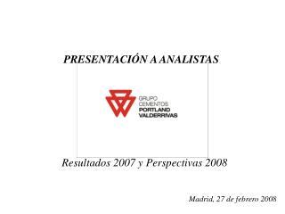 Madrid, 27 de febrero 2008