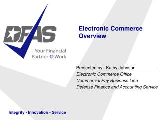 Electronic Commerce Overview
