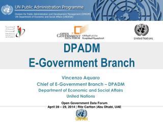 DPADM E-Government Branch