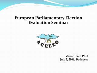 Zolt�n T�th PhD July  3, 2009, Budapest