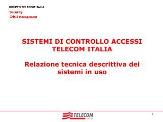 GRUPPO TELECOM ITALIA