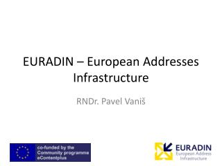 EURADIN – European Addresses Infrastructure