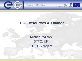 EGI Resources & Finance