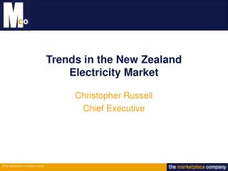 Trends in the New Zealand  Electricity Market