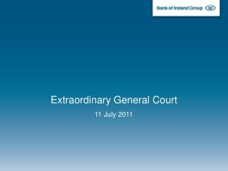 Extraordinary General Court