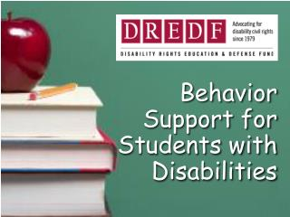 Behavior Support for Students with Disabilities