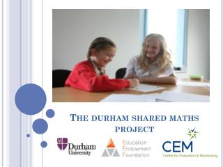 The  durham  shared maths project