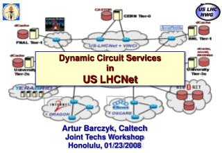 Dynamic Circuit Services in  US  LHCNet