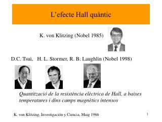 L'efecte Hall quàntic