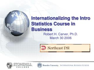 Internationalizing the Intro Statistics Course in Business
