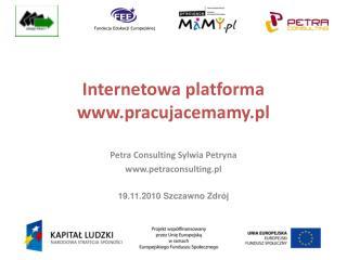 Internetowa platforma  pracujacemamy.pl