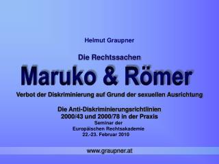Seminar der  Europ�ischen Rechtsakademie       22.-23. Februar 2010