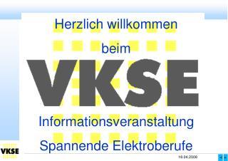 Herzlich willkommen beim Informationsveranstaltung Spannende Elektroberufe