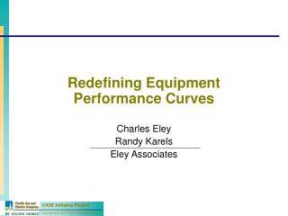 Redefining Equipment Performance Curves