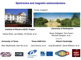 Spintronics and magnetic semiconductors