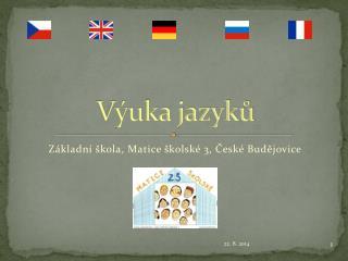 Výuka jazyků