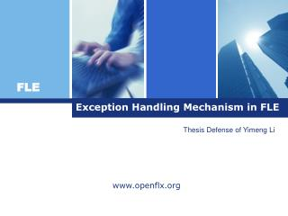 Exception Handling Mechanism in FLE