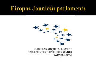 Eiropas Jauniešu parlaments