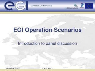 EGI Operation Scenarios