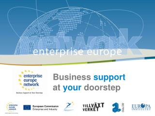 Business  support at  your  doorstep