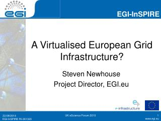 A Virtualised European Grid Infrastructure?