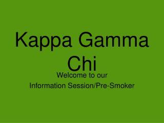 Kappa Gamma Chi