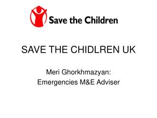 SAVE THE CHIDLREN UK