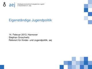 Arbeitsgemeinschaft der Evangelischen Jugend in Deutschland e.V. (aej)