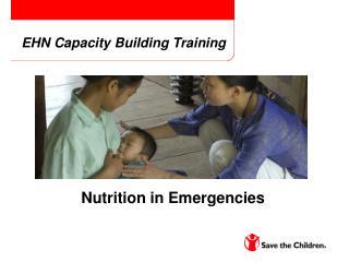 EHN Capacity Building Training