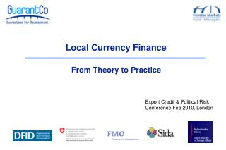 Local Currency Finance