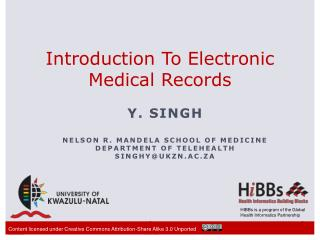 Introduction To Electronic Medical Records
