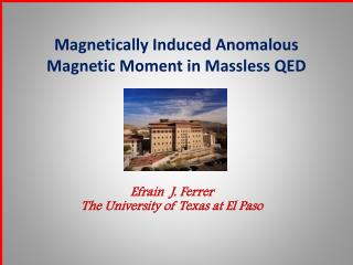 Magnetically Induced Anomalous Magnetic Moment in Massless QED