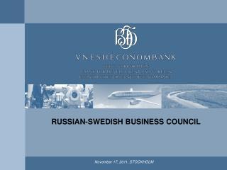 November 17, 2011, STOCKHOLM