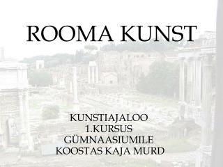 ROOMA KUNST