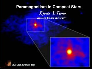 Paramagnetism in Compact Stars