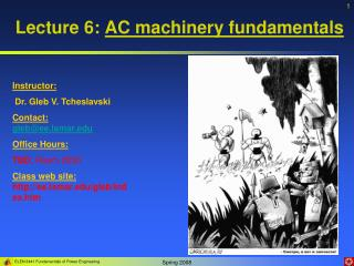 Lecture 6: AC machinery fundamentals