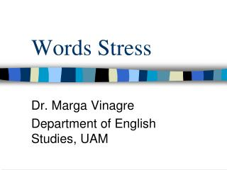 Words Stress