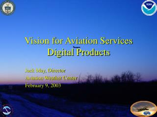Vision for Aviation Services Digital Products