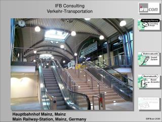Hauptbahnhof Mainz, Mainz Main Railway-Station, Mainz, Germany