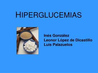 H IPERGLUCEMIAS
