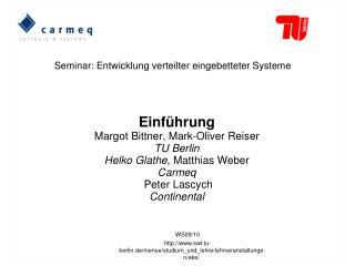 WS09/10 swt.tu-berlin.de/menue/studium_und_lehre/lehrveranstaltungen/eks/