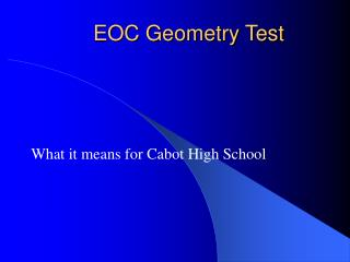 EOC Geometry Test