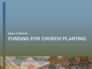 Funding for Church Planting
