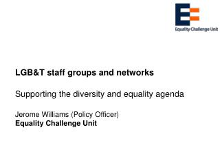 LGB&T staff groups and networks