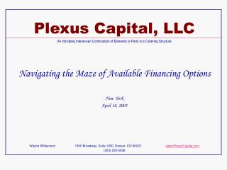 Plexus Capital, LLC