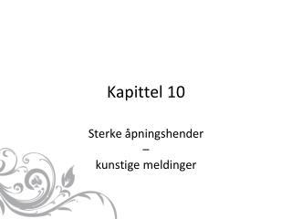 Kapittel 10