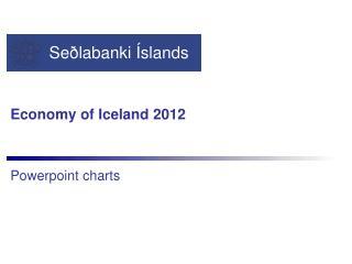 Economy  of  Iceland  2012