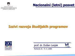 Izzivi razvoja študijskih programov